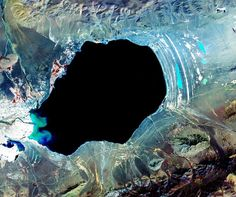 Another World NASA& and U.& ASTER Science Team This other worldly landscape is actually Dagze Co, one of many inland lakes in Tibet. In glacial times, the region was . Earth Day Images, Earth Photos, Tibet, Nasa Images, Nasa Photos, Crashing Waves, Image Of The Day, Earth From Space, Another World