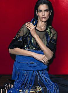 Amanda Wellsh, volto della campagna Gucci Nouveau PE