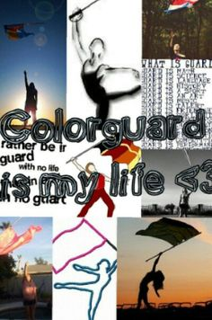 Colorguard is my life