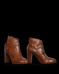 brand new cca67 9bc5c Belstaff Ankle Boot New Agnes PH Slim, burnt brown