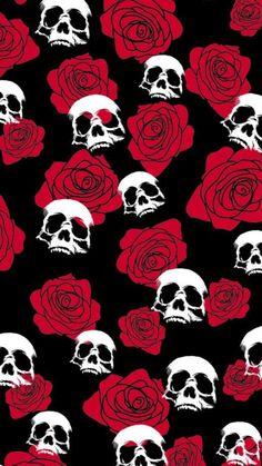 ...There You Go... Halloween Wallpaper Iphone, Skull Wallpaper, Dark Wallpaper, Tumblr Wallpaper, Screen Wallpaper, Wallpaper Backgrounds, Iphone Wallpaper, Wallpaper Caveira, Skeleton Art