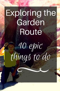 Find out how to travel and explore the Garden Route like an adventure junkie. Great Places To Travel, Ways To Travel, Travel Tips, Sa Tourism, Vacation Checklist, Cape Town South Africa, Ultimate Travel, Africa Travel, Countries Of The World