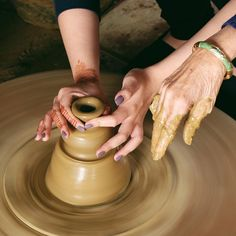 Make pottery is one traditional craft in Hoi An