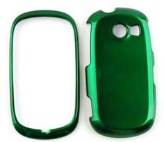Buy ACCESSORY HARD SHINY CASE COVER FOR SAMSUNG FLIGHT II A927 SOLID DARK GREEN NEW for 3.99 USD | Reusell