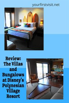 Disney Vacation Club (DVC): Detailed Review and Photo Tour of The Villas and Bungalows at Disney's Polynesian Village Resort from yourfirstvisit.net #DisneyWorldTips #DVC #DisneyVacationClub #PolynesianVillagaVillas