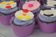 Purple Themed Farm bday party