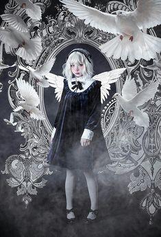 74429a832b17 Lolita Fashion, Gothic Fashion, Doll Parts, Lolita Dress, Visual Kei, Gothic