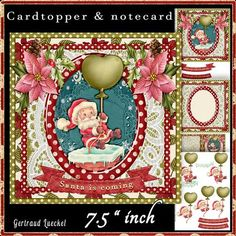 Santa is coming 504 on Craftsuprint - View Now!