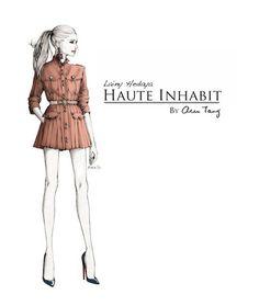 Lainy Hedaya at Haute inhabit - by Alex Tang