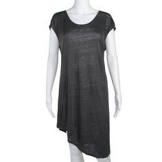Lace Up Back Jersey Dress