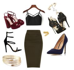"""""""Simple night out"""" by annayab on Polyvore featuring La Perla, Dorothy Perkins, Cartier, Valentino and fall2015"""