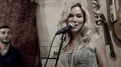 Joss Stone in Armenia doing a collaboration with Gata Band