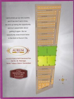 Aurum city layout by Pune Real Estate via slideshare