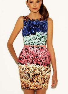 Paula Folch : Blanco S'12 Campaign ...Pretty cocktail dress ♥ Via www.zoolz.com