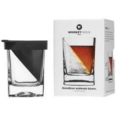 WIN a Whiskey Wedge glass