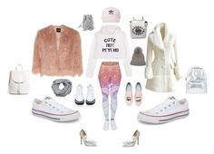"""""""What to Wear """"White Gym Wear"""" (After Labor Day)"""" by paris55587 ❤ liked on Polyvore featuring Theory, Converse, STELLA McCARTNEY, Chiara Ferragni, Jimmy Choo, Everlane, Accessorize, MANGO, Eugenia Kim and adidas"""