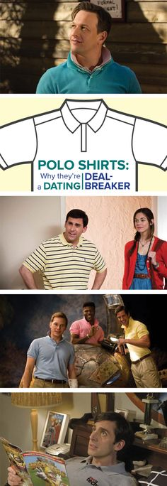Find out why you might want to twice about wearing that polo shirt on a date.