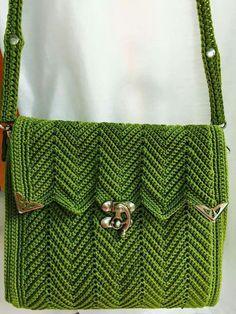 herringbone purse