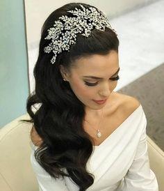 Large Royal Wedding Bridal Crown Tiara Fashion bridal Hairband
