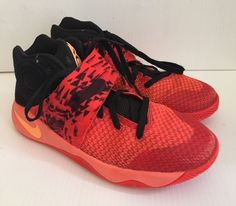bffe6ae0aaac Kyrie 2 Inferno Youth 7 NBA Basketball Shoes EUC