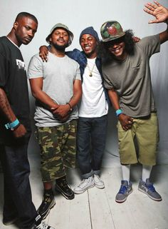 Black Hippy Crew Ab-Soul Jay Rock Schoolboy Q Kendrick Lamar hip hop instrumentals updated daily => http://www.beatzbylekz.ca