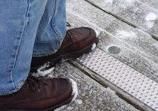 The unique raised button surface of Handi-Treads provides the best slip, trip and fall prevention.