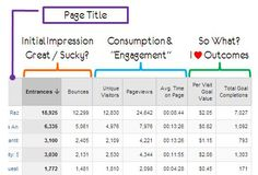 Content Efficiency Analysis - Top 8 Google Analytics Reports for managing Organic SEO campaigns