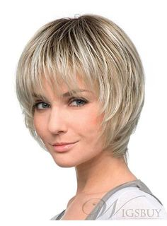 New Arrival Short Straight Bob Synthetic Wig 10 Inches