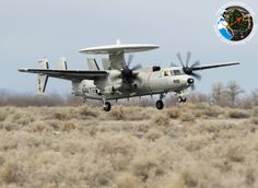 Naval Fighter Weapons School at NAS Fallon aka Topgun. Grumman E-2C-2000 Hawkeye. NSAWC. Nas Fallon. 03.03.2014