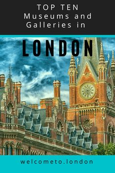 Discover the top ten museums in London to visit, Including the best free museums & galleries for you London trip. London Free Museums, London Activities, London Accommodation, Millennium Bridge, London Attractions, Galleries In London, Things To Do In London, Weekend Breaks, London Hotels