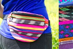 Tribal Print Fanny Pack from Earthbound. We're bringing the fanny pack back!