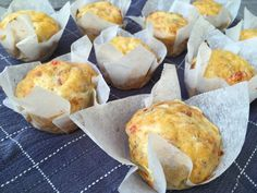 Lavkarbo matpakkemuffins Muffin, Gluten, Breakfast, Food, Morning Coffee, Muffins, Meals, Cupcakes, Yemek