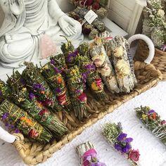 (@vespermoth) Smudge stick wedding favour