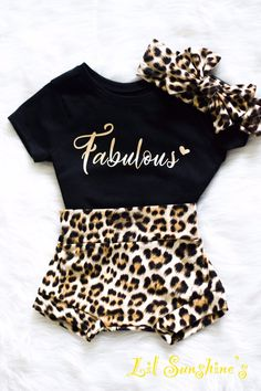 Excited to share this item from my shop: Leopard Theme- Baby Bummies, Baby Shorts, Baby Fall C Baby Girl Shirts, Baby Girl Bows, Baby Girl Headbands, Baby Girl Themes, My Baby Girl, Baby Girl Stuff Newborn, Black Baby Girls, Cute Baby Girl Outfits, Toddler Outfits