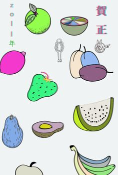 #japanese #graphics #design - colours & line style
