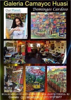 Adquire Arte, Adquire Cultura!!! Galeria CAMAYOC HUASI!