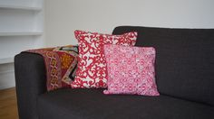 Red Cushions! Red Cushions, Throw Pillows, Bed, Home, Red Pillows, Red Throw Pillows, Cushions, Stream Bed, House
