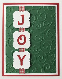 9 More Easy Homemade Christmas Cards with Step by Step Instructions – DIY Fan Cricut Christmas Cards, Stamped Christmas Cards, Simple Christmas Cards, Christmas Card Crafts, Homemade Christmas Cards, Merry Christmas, Printable Christmas Cards, Christmas Scrapbook, Homemade Cards