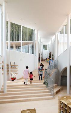 佐々木慧+佐々木翔 / INTERMEDIAによる、長崎県長崎市の「あたご保育園」 | architecturephoto.net