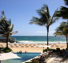 La Concha Resort, Condado, San Juan... Can't you just see the guests lounging here?