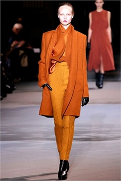 Orange - from Fall Winter 2012-13 collections. Click on the photo to see Vogue Italia's choices.