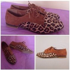 I just discovered this while shopping on Poshmark: NEW! Cheetah Print Oxfords. Check it out!  Size: 7