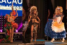Parade of National Costumes at Miss Intercontinental 2015