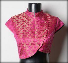 Choli Designs, Brocade Blouse Designs, Fancy Blouse Designs, Bridal Blouse Designs, Blouse Neck Designs, Brocade Blouses, Dress Designs, Brocade Saree, Saree Blouse Patterns
