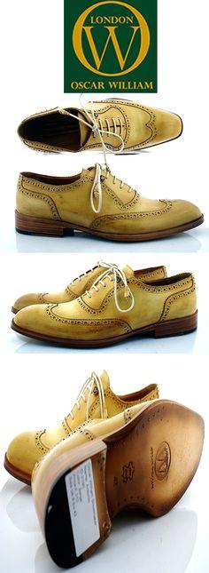 Oscar William handmade luxury men shoes