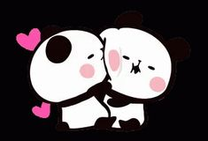 The perfect Couples Panda Love Animated GIF for your conversation. Discover and Share the best GIFs on Tenor. Cute Hug Images, Cute Cartoon Images, Cute Bunny Cartoon, Cute Love Cartoons, Niedlicher Panda, Panda Love, Cute Kiss, Cute Love Gif, Panda Wallpapers