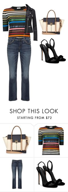 """Untitled #689"" by samson-90 on Polyvore featuring River Island, Sonia Rykiel, Silver Jeans Co. and Giuseppe Zanotti"