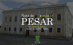 NONATO NOTÍCIAS: Prefeitura de Senhor do Bonfim emite nota de pesar...