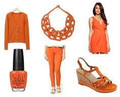 some fun orange