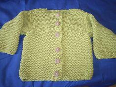 Jaqueta de cotó, talla 6 mesos